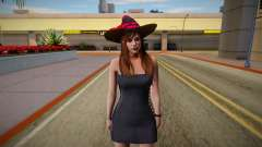 GTA Online Skin Ramdon Female Allian Dress Witch para GTA San Andreas