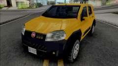 Fiat Uno Way 2011 para GTA San Andreas