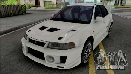Mitsubishi Lancer Evolution V RS Edited para GTA San Andreas