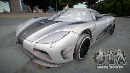 Koenigsegg Agera R APR04 para GTA San Andreas