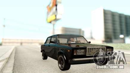Vaso 2107 Preto para GTA San Andreas