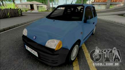 Fiat Seicento Blue para GTA San Andreas