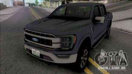 Ford F-150 XLT 2021 para GTA San Andreas