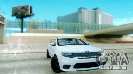 Jeep Grand Cherokee Black Rims para GTA San Andreas