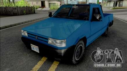 Fiat Fiorino 1995 (Pick Up) v2 para GTA San Andreas