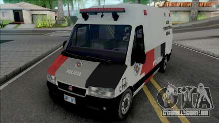 Fiat Ducato PMESP para GTA San Andreas