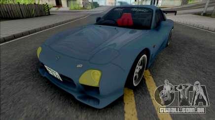 Mazda RX-7 FD3S A-Spec Wangan para GTA San Andreas