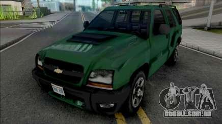 Chevrolet Blazer Advantage 2009 para GTA San Andreas