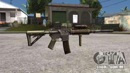 M4 Camo para GTA San Andreas