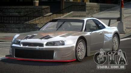 Nissan Skyline R34 G-Custom para GTA 4