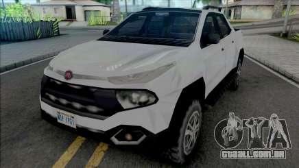 Fiat Toro 2020 SA Style para GTA San Andreas