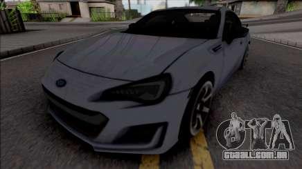 Subaru BRZ tS para GTA San Andreas