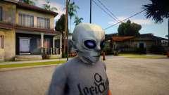 BULLY SE Alien Mask For CJ para GTA San Andreas