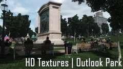 HD Textures - Outlook Park para GTA 4