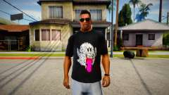 Fantasma T-Shirt para GTA San Andreas