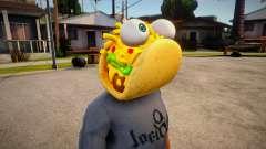 Fortnite Taco Mask For Cj para GTA San Andreas
