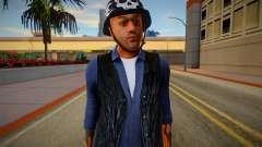 The Lost MC Biker V4 para GTA San Andreas