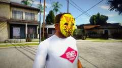 Manhunt Happy Mask For Cj para GTA San Andreas