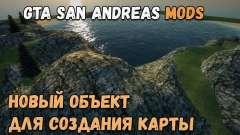 Novo objeto para criar seus mapas - Lago 1 para GTA San Andreas
