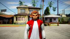 GTA V Space Monkey Mask for Cj para GTA San Andreas