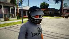 Racing Helmet Rockstar para GTA San Andreas