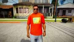 Major League Blazers T-Shirt para GTA San Andreas