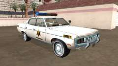 AMC Matador 1971 Hazzard County Sheriff para GTA San Andreas
