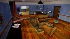 Armas na casa dos Johnsons. para GTA San Andreas