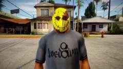 Smiley Mask (GTA Online Diamond Heist) para GTA San Andreas