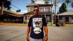 OnSomeShit Monkey T-Shirt para GTA San Andreas