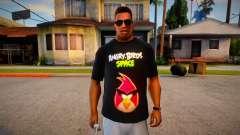 Angry Birds Space T-Shirt para GTA San Andreas