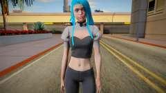 Sarah para GTA San Andreas