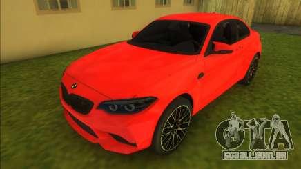 BMW M2 Competition 2018 para GTA Vice City