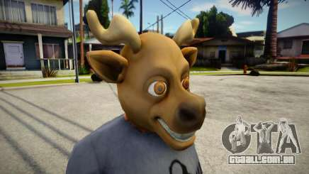 Rudolph Mask (GTA V Old Gen Xmas) para GTA San Andreas