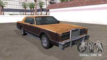 Virgo Continental Sedan para GTA San Andreas