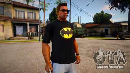 Batman T-Shirt (good textures) para GTA San Andreas