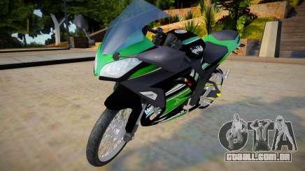 Kawasaki Ninja 250 Jari2 para GTA San Andreas