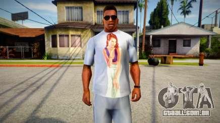 Starlet from GTA V T-Shirt Mod para GTA San Andreas