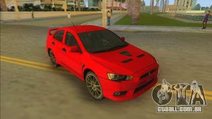 Mitsubishi Lancer Evolution X para GTA Vice City