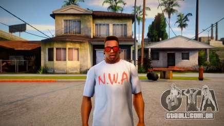 Camiseta N.W.A para GTA San Andreas