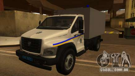Gazon Next Autozac do Ministério da Corregedoria de Odessa para GTA San Andreas