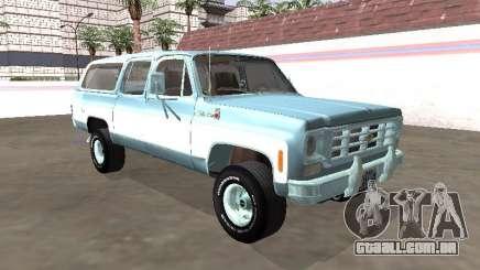 Chevrolet Deluxe Suburban 1974 para GTA San Andreas