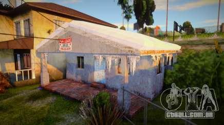 Winter Gang House 3 para GTA San Andreas
