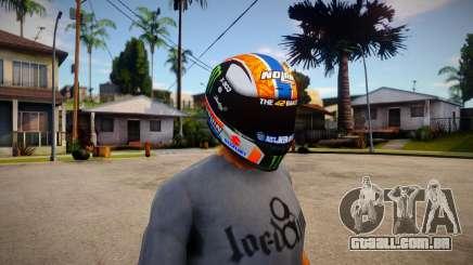 NOLAN X-803 Helmet [Alex Rins 2019 Edition] para GTA San Andreas