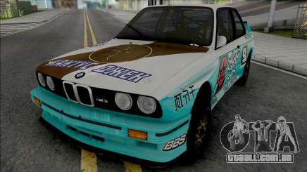BMW M3 E30 1988 X Cactus Jack para GTA San Andreas