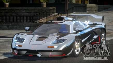 McLaren F1 GST-R L4 para GTA 4