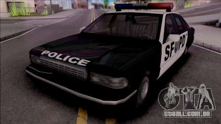 Beta Premier Police SF (Final) para GTA San Andreas