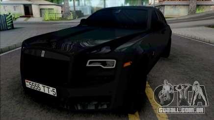 Rolls-Royce Wraith [HQ] para GTA San Andreas