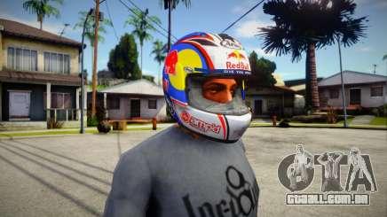 ARAI RX-7 Corsair Nicky Hayden para GTA San Andreas