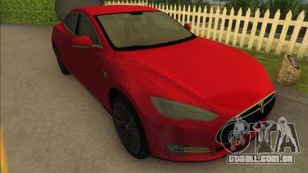 2014 Tesla Model S P85D para GTA Vice City